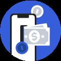 Puhelin ja rahat