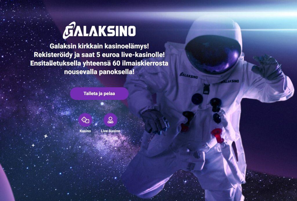 Galaksino etusivu toukokuu 2021 PC